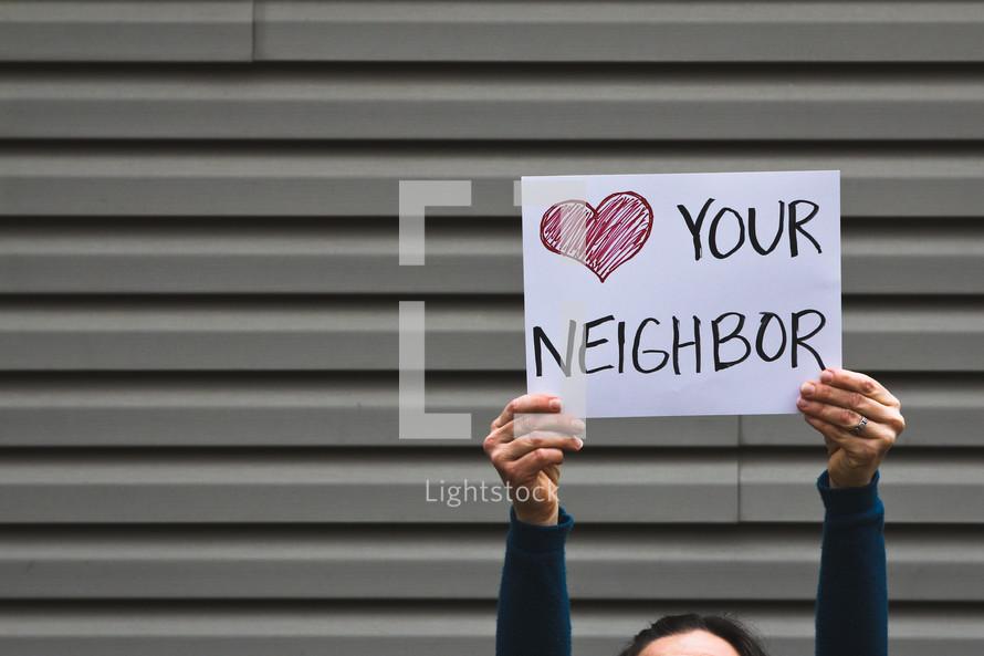 heart your neighbor