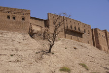 Erbil Citadel, longest continually inhabited city in the world. Kurdistan, Iraq