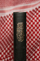 spine of an Arabic Bible