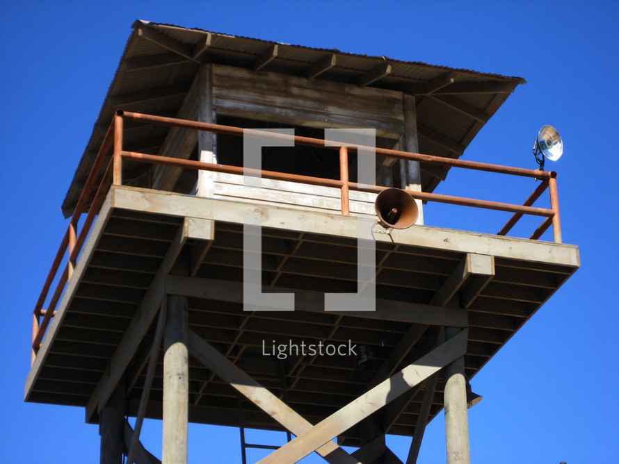 Old Prison Watch tower, Guard Tower