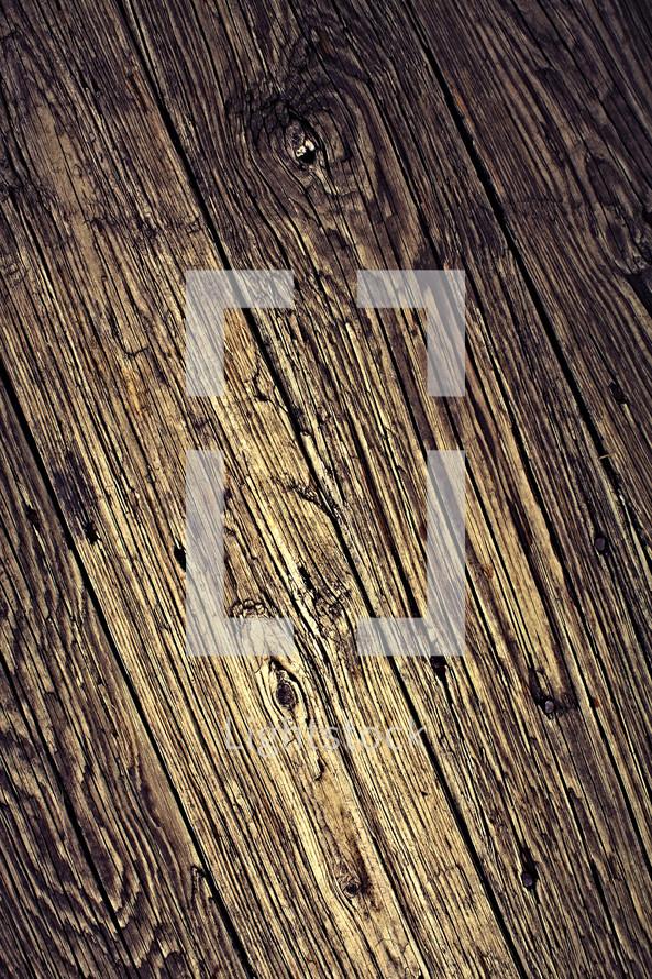 A closeup of a piece of wood