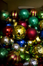 Christmas tree ornament bulbs