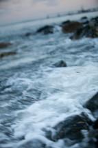 rocky shore iine