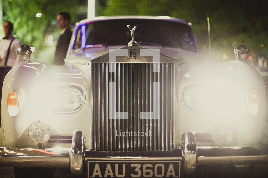 Front view of Royals Royce