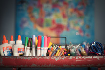 classroom art supplies