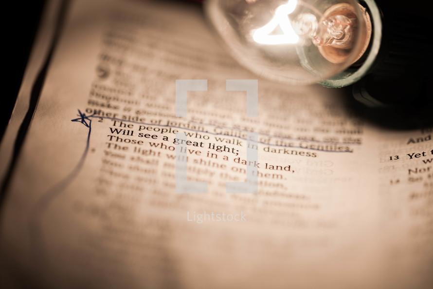 Scripture in bible
