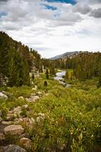 river through a mountain landscape