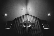 Cross in a sanctuary