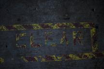 """Clear"" street imprint"