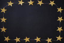 star and string border