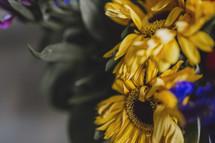 flower arrangement closeup