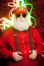 summertime Santa Claus