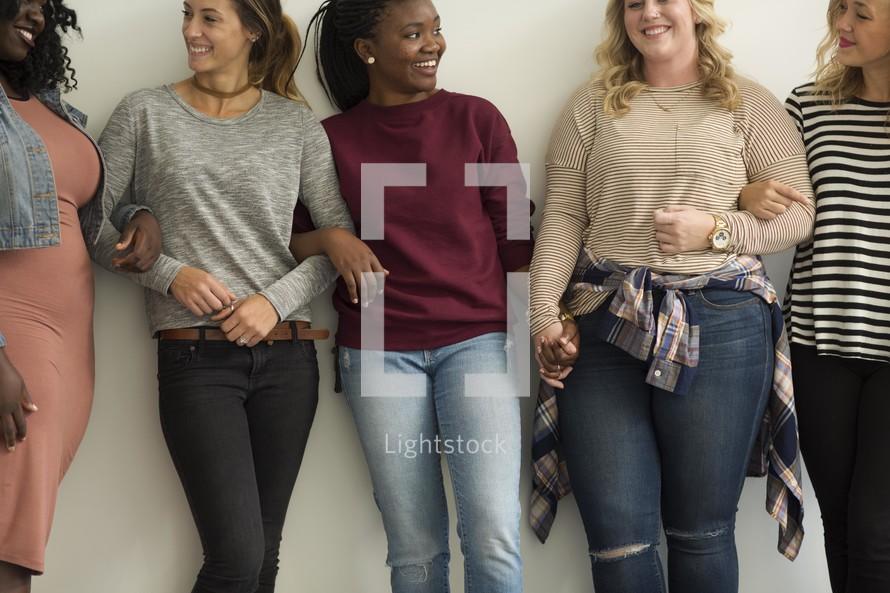 woman's group portrait