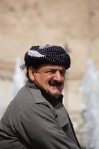 Kurdish man in Northern Iraq