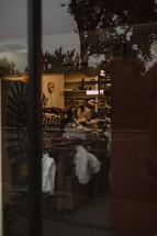 view into a shop