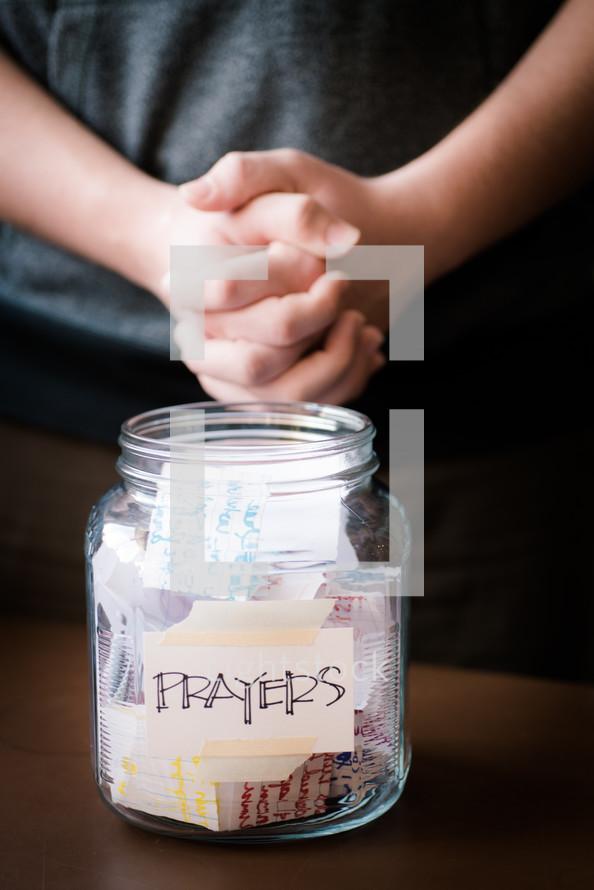 prayer jar