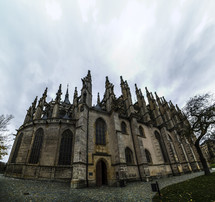 Cathedral with spires