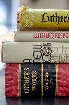 Luther's work books