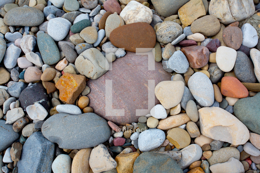 Stones, pebbles, and rocks