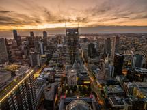 Melbourne skyline
