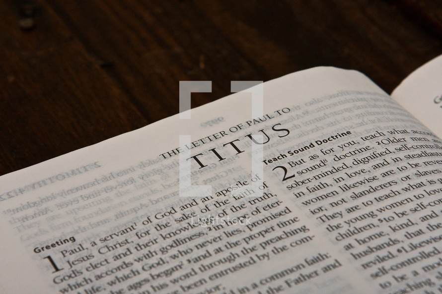 Scripture Titles - Titus