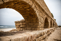 ancient ruins in the holy land