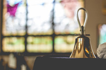 handbell in a church