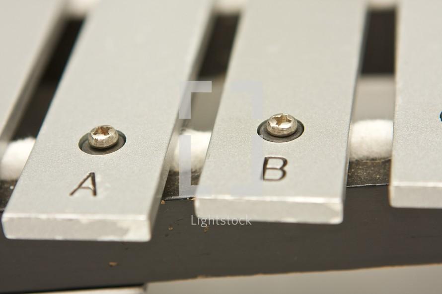xylophone keys