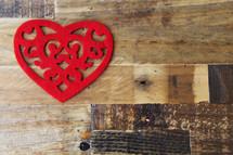 heart shaped doilies