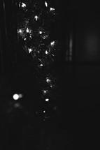 garland and Christmas lights