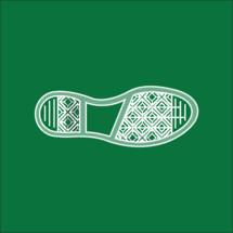 a shoe print