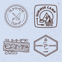 summer camp 2015 badges