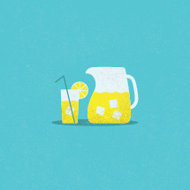 lemonade illustration.