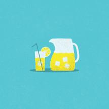 lemonade illustration.