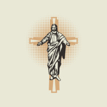 Jesus on the cross icon