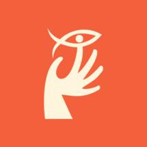 hand and Jesus fish