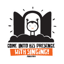Come into his presence with singing, Psalm 100:1