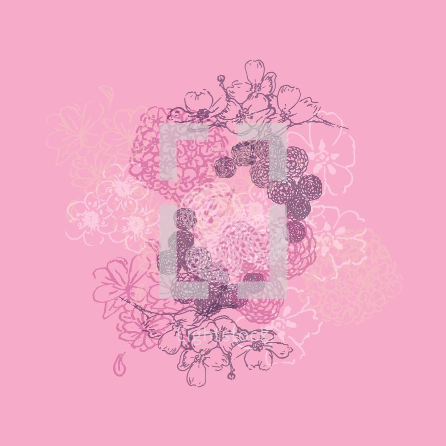 floral print background