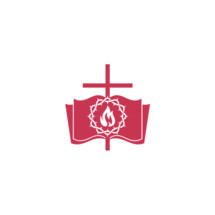 cross, Bible, crown of thorns, flame