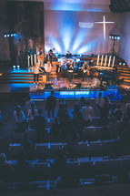 live music during a worship service