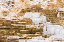 cascading stone wall