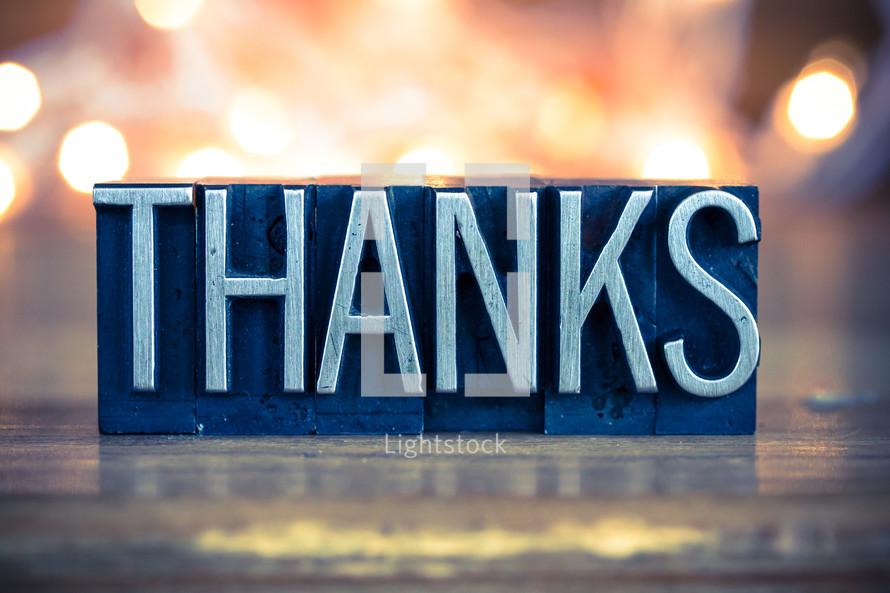 word thanks