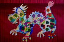 Chinese dragon children's artwork