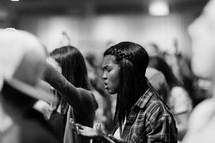 teens praising God