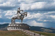 The Genghis Khan Equestrian Statue.