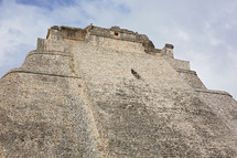 Uxmal Mayan Ruins at Yucatan Mexico