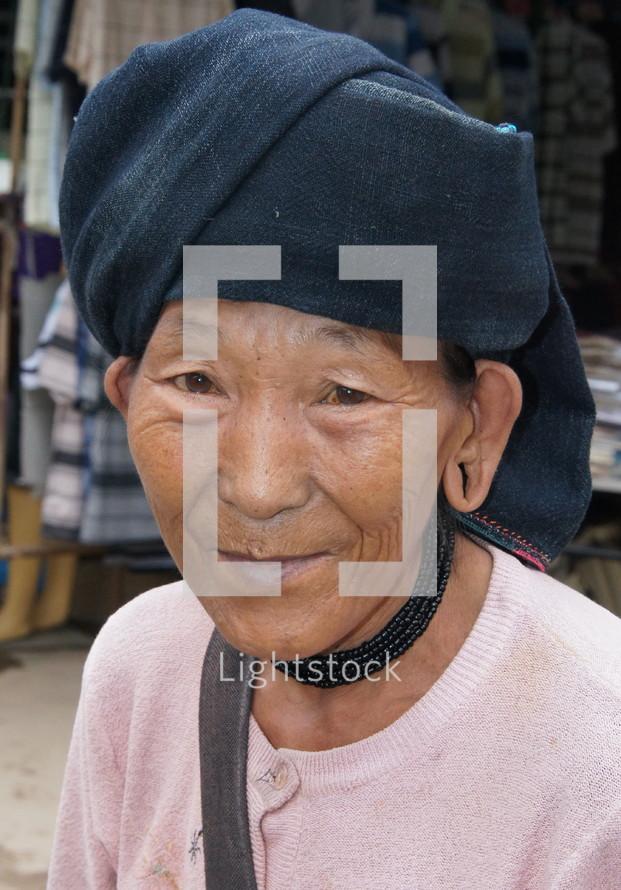 Man wearing a turban.