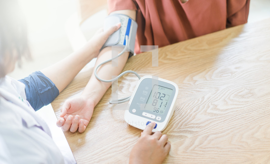 monitoring your blood pressure
