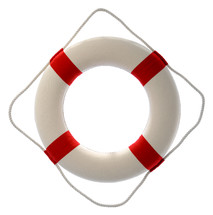 Lifesaver ring.