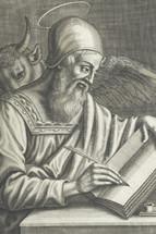 disciple Luke sketch